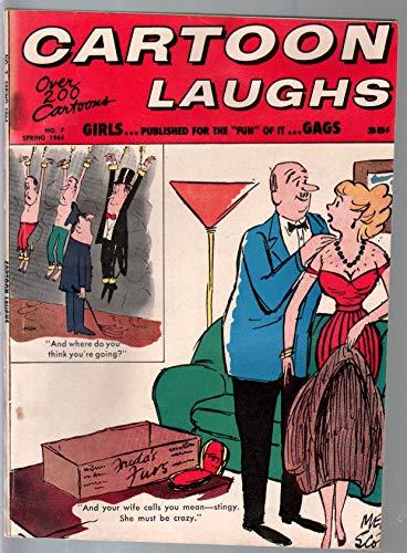 - Cartoon Laughs #7 Spring 1964-Elke Sommer-Gina Graham-cartoons-comics-gags-VG
