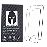 9H Tempered Glass - iPhone 7 6S 6 Hard Screen Protector for Apple Smart Phone - Force 3D Touch Friendly & Compatible - Anti-Scratch Anti-Oil Fingerprint Dust Resistant - Ultra Clear HD Retina Quality