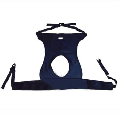 MEYLEE Cinturones de seguridad antideslizamiento para silla de ruedas médica - Banda de restricción transpirable de
