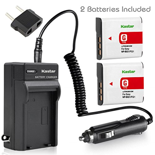 ClearMax Kastar Travel Charger, 2 Batteries and Car Plug ...