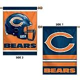 Chicago Bears 2-sided Banner Flag For Sale