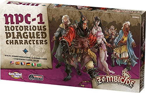 Zombicide Notorious Plagued Characters, Black