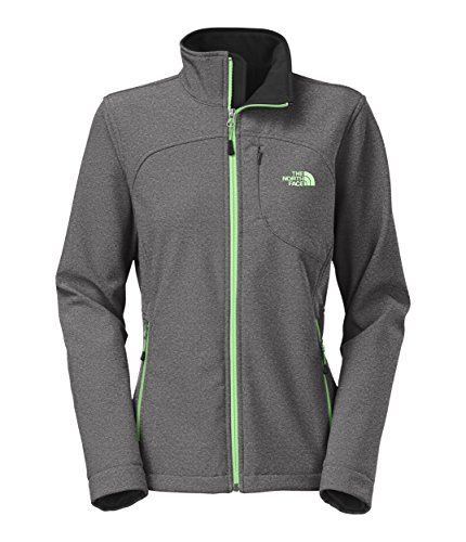 Women Apex Bionic Jacket (The North Face Women's Apex Bionic Jacket TNF Black Heather Outerwear XS)