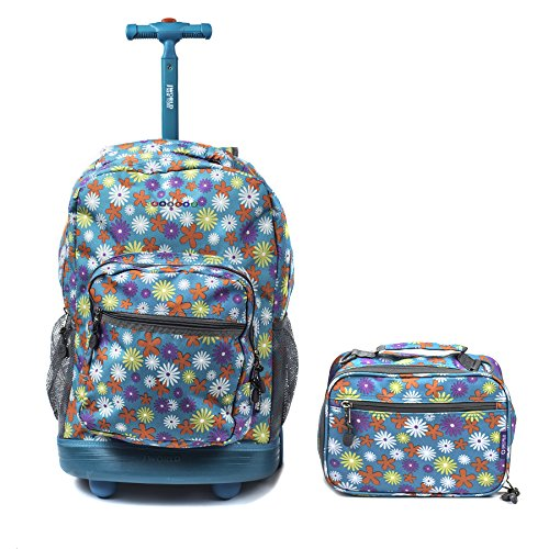 World Sunrise Rolling Backpack Lunch product image