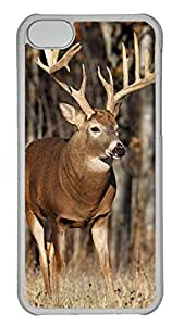 iPhone 5C Cases & Covers - Forest Elf Elk 2 Custom PC Soft Case Cover Protector for iPhone 5C - Transparent