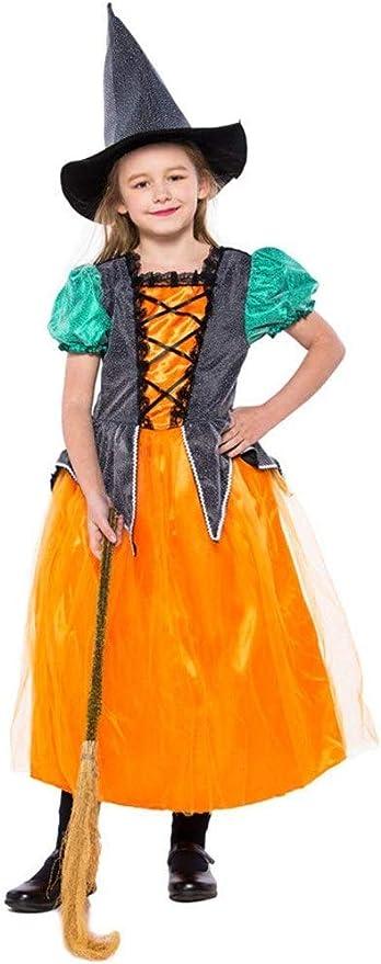 Junpp Bruja de Halloween Vestido de Traje, Partido Escuela de ...