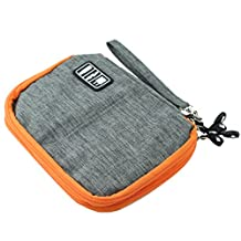 CamDesign Medium Multi-Function Handbag Electronic Accessory Travel Bag / Storage / Tablet Case / Cable Organizer/ Universal Bag/ USB Bag/ Hard drive Storage Case (M)