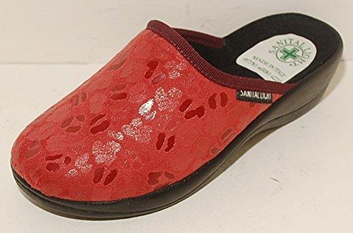 maggiore sconto di vendita bello design più alla moda Sanital Light Ciabatte Donna Pantofole Rosse Rosso Ciabatta ...