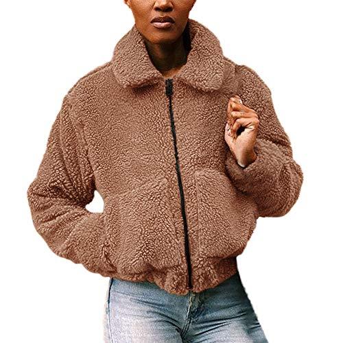 TnaIolr Women Warm Coat Ladies Winter Casual Warm