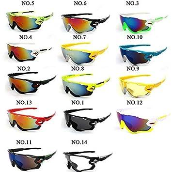 422dad3b0 Óculos de Sol Para Ciclismo e Praia, UV, Allau: Amazon.com.br ...