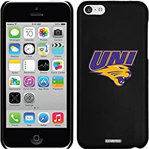 Coveroo iPhone 5 5s Black Thinshield Snap-On Case with Northern Iowa Primary Mark Design