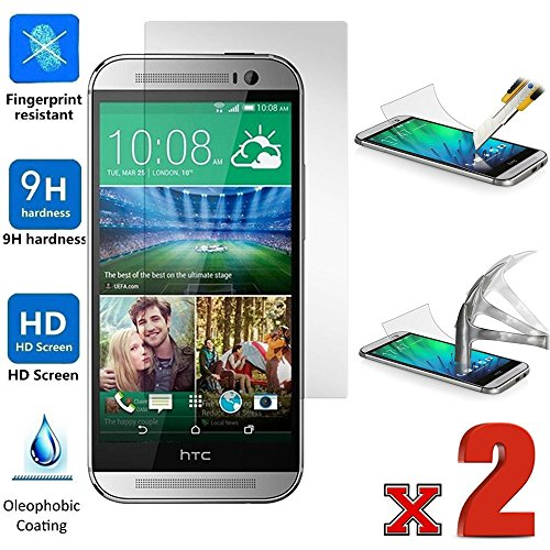 0.3mm Tempered Glass Screen Protector for HTC One E8 - 8