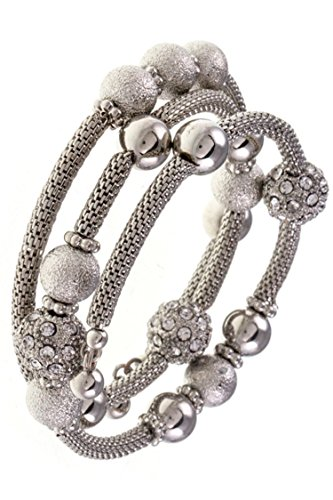 Karmas Canvas Orb Station Mesh Detailed Wrap Bracelet - Com Dior Www