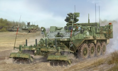 Trumpeter 1/35 M1132 Stryker Engineer Squad Vehicle  with LW