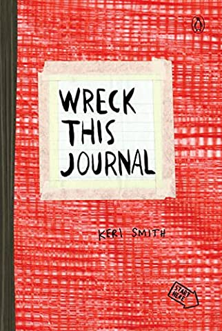Wreck This Journal (Red) Expanded Ed. - Creative Scrapbooking