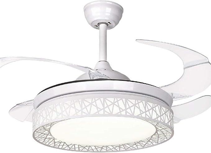 BHA Ventilador de techo con luz led y mando a distancia moderna ...