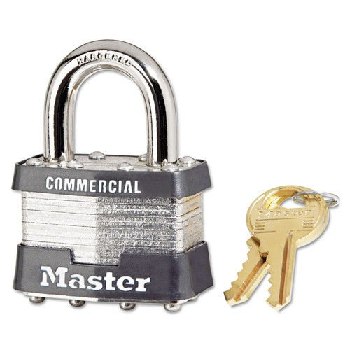 MASTER LOCK 1DCOM 4 Pin Tumbler Safety Padlock Keyed Different (Price is for 4 Each/Box)