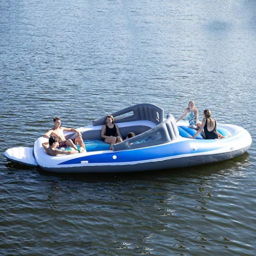 6-Person Inflatable Bay Breeze Boat Island Party Island by SunPleasureInflatable (Image #1)