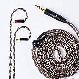 KINBOOFI 2PIN Earphone Cable 8 Core Upgrade Cable