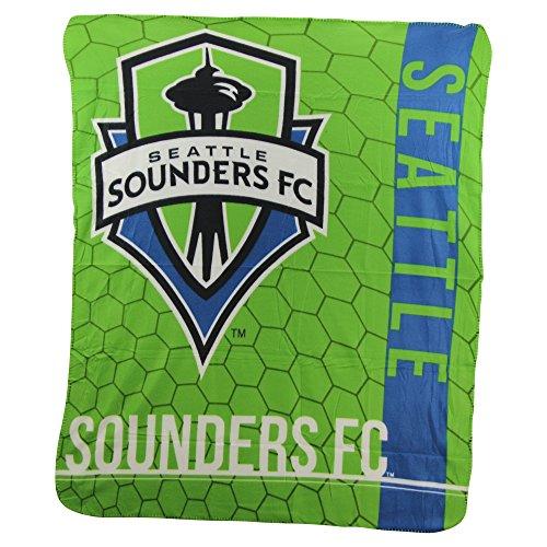 "The Northwest Company MLS Blast Lightweight Fleece Throw Blanket 50"" x 60"" (Seattle Sounders)"