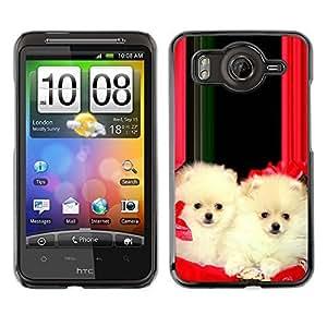 YOYO Slim PC / Aluminium Case Cover Armor Shell Portection //Christmas Holiday Cute Holiday Dog Puppy 1186 //HTC G10
