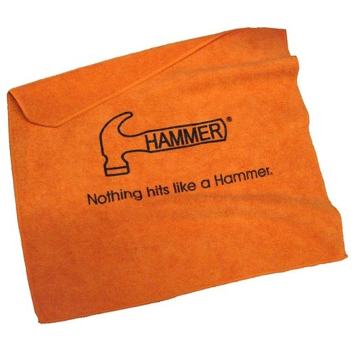 Hammer Bowling Microfiber Towel- Orange by Hammer Bowling Products