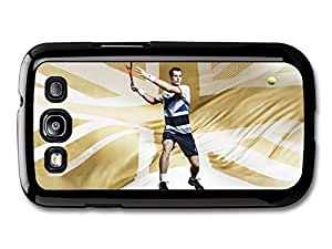 AMAF ? Accessories Andy Murray Gold Great Britain Tennis Player case for Samsung Galaxy S3 wangjiang maoyi by lolosakes