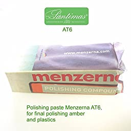 MENZERNA AT6 polishing compound for amber and plastic 800 grams