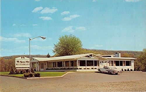 Clearfield Pennsylvania The Captain's Table Restaurant Vintage Postcard V12695