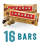 Larabar Gluten Free Snack Bars, Peanut Butter Chocolate Chip, 1.6 Ounce Bars (16 Count)