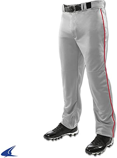 Champro Men/'s Triple Crown Pant Baseball Adult w//Piping Hemmed Belt Loop BP91U