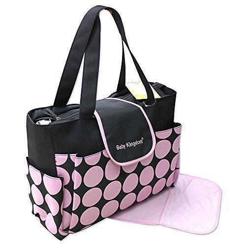 2 piezas bebé Color Modelo 2015 ! rosa negro Bolso del pañal Selector De Color De Bolsa Limpia Pañales Bolsa Babytasche Viajes