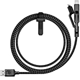Nomad Ultra Rugged Universal Cable Micro USB/USB Type-C/Lightning