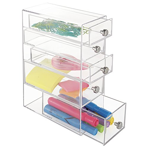 mDesign Office Supplies Organizer Highlighters