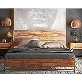 wooden king size bed frame - TOV Furniture TOV-B7051 Bushwick Bed, King