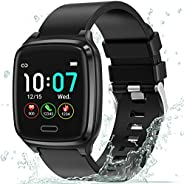 Fitness Tracker, L8star Smart Watch Touch Screen Heart Rate Monitor,Sleep Monitor,Calorie Counter, 1.3'