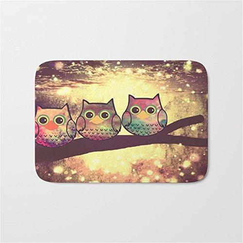 246 Insert - Huishe1 owl-246 Doormat Bath Mat