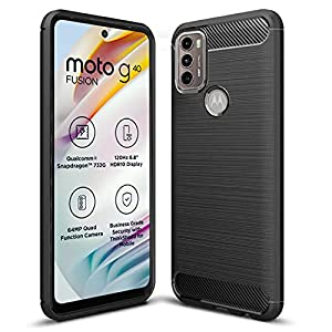 Nainz Back Cover for Motorola G40 Fusion/Motorola G60 Case Cover Rugged Armor Slim Fit [Protective + Anti Shockproof…
