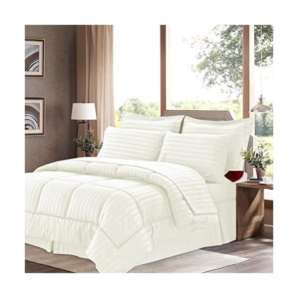 Sweet Home Collection Sheets, 2 Pillowcases, 2 Shams Down Alternative All Season Warmth