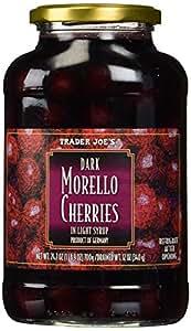 Trader Joe's Dark Morello Cherries in Light Syrup
