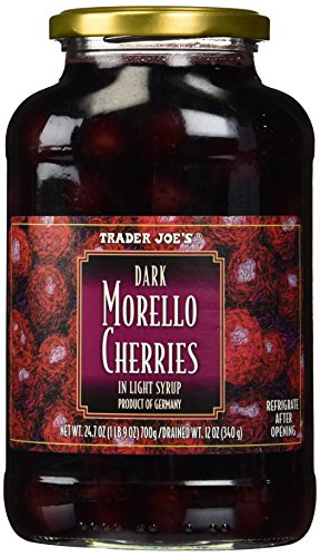 Trader Joe's Dark Morello Cherries in Light Syrup