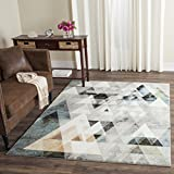 Safavieh Porcello Collection PRL6938C Modern Abstract Art Grey and Blue Area Rug (3′ x 5′) Review