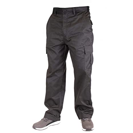 Blue Size 38 Short Lee Cooper Workwear LCPNT205 Mens Work Safety Cargo Pants Trousers
