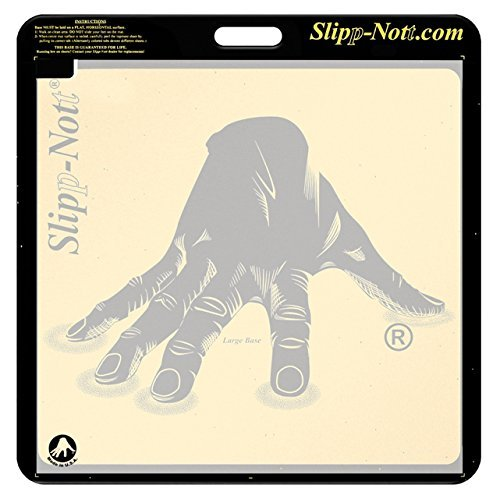 Slipp-Nott Traction Set for Ultimate Grip on the Court (Replacement Mat Included) (Large Base with 30 Sheets Replacement Mat)