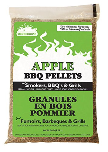 Smokehouse BBQ Pellets 20lb Bag Apple