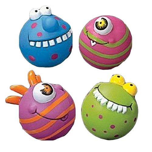 (Fun Express Assorted Monster Water Squirt Balls - 12 Pieces)