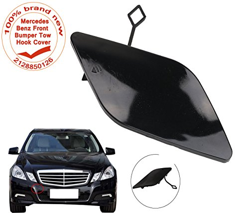 E-Most Front Bumper Tow Hook Cover Cap for 2009-2013 Mercedes Benz E class W212 E300 E500 (Mercedes Benz Bumper Cover)