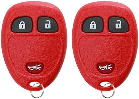 KeylessOption Keyless Entry Remote Control Car Key Fob Replacement for 15913420