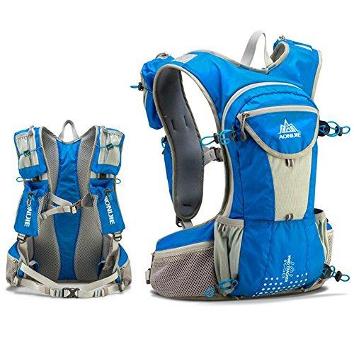 aonijie Hydration Rucksack 12L, leicht und wasserdicht Radfahren Weste Rucksack für Camping Laufen Wandern Blue only bag
