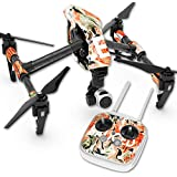 Skin For DJI Inspire 1 Quadcopter Drone – Sauced | MightySkins Protective, Durable, and Unique Vinyl Decal wrap cover | Easy To Apply, Remove, and Change Styles | Made in the USA